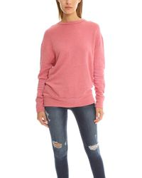 V :: Room - Highsoft Gauze Fleece Crewneck - - Lyst