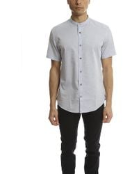 Vince - Melrose Collar S/s Button Up - Lyst