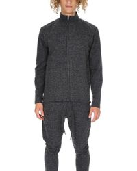 Journal - Arely Track Zip Up Sweater - Lyst