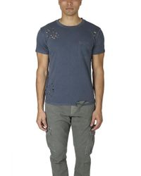 NSF - Paulie Destroyed Pocket Tee - Lyst