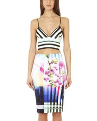 Clover Canyon - Hollywood Bowl Crop Top - Lyst