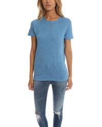 IRO - Clay Tee Azur Blue - Lyst