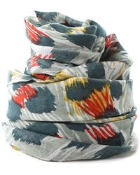 We Are Owls - Green Jaguar Scarf - Lyst