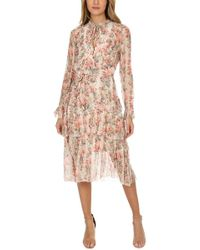 Zimmermann - Folly Neck Tie Dress - Lyst