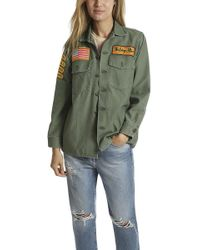 Madeworn Rock - Madeworn The Rolling Stones Army Jacket - Lyst