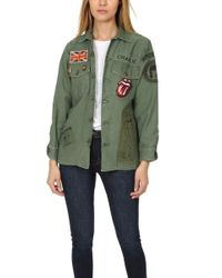 MadeWorn - Rolling Stones Sequin Army Jacket - Lyst