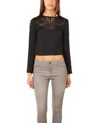 Clover Canyon - Laser Cut Top - Lyst