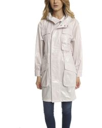 ATM - Coated Parka - Lyst