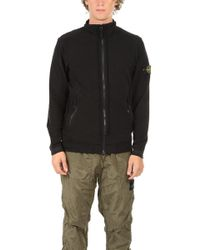 Stone Island - Zip Up Jumper - Lyst