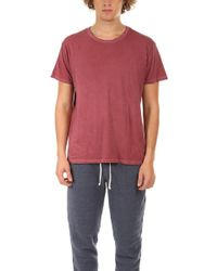 Alternative Apparel - Heritage Tee Red - Lyst