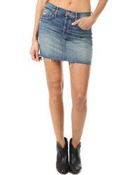 Mother - The Vagabound Mini Skirt Nbt - Lyst