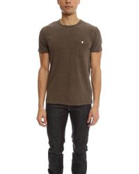 Todd Snyder - Classic Button Pocket T-shirt - Lyst
