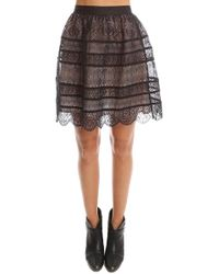 Zimmermann - Lavish Embroidered Bell Mini Skirt - Lyst