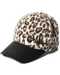 Lucien Pellat Finet - Fleece Leopard Cap - Lyst