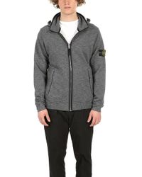Stone Island - Light Soft Shell Jacket Ice - Lyst