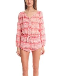 LoveShackFancy - Playsuit - Lyst