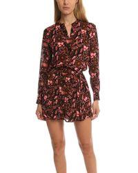 A.L.C. - Sacha Floral Print Dress - Lyst