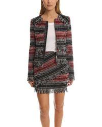Nicholas - Fringe Tweed Jacket - Lyst