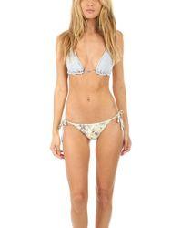 Zimmermann - Iris Crochet Bikini - Lyst