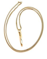 Vitaly - Jern Necklace Gold - Lyst