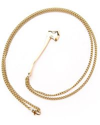 Vitaly - Sequoia Axe Necklace - Lyst