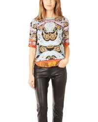 Twelfth Street Cynthia Vincent - Shirt Tail Tee - Lyst