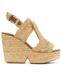 Robert Clergerie - Dypaille Wedge Sandal - Lyst