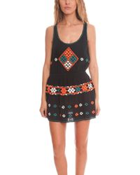 Gat Rimon - Cotton Mesh Dress - - Lyst