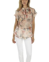 Zimmermann - Radiate Cascade Top - Lyst