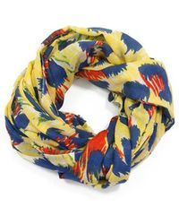 We Are Owls - Jaguar Scarf In Yellow - Lyst