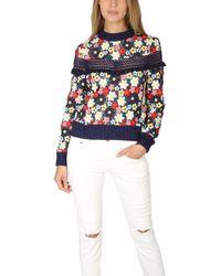 Sea - Multicolour 3d Lace Sweatshirt - Lyst