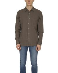 Kato - The Ripper Slim French Seam Shirt - Lyst