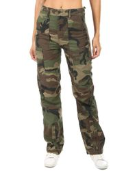 RE/DONE - High Waisted Cargo - Lyst