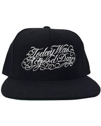 Blue & Cream - Today Was A Good Day Snapback - - Lyst