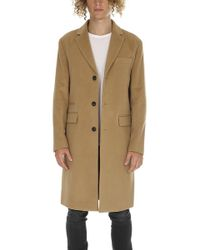 Officine Generale - Alife Coat Itl Wool Cashmere - Lyst