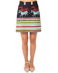 Suno | A Line Mini Skirt | Lyst