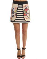 Harvey Faircloth | Feed Sack Layered Mini Skirt | Lyst