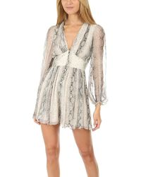 97d35c33ef Zimmermann - Corsage Fluted Playsuit - Lyst
