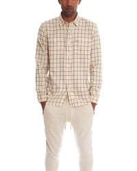 Timo Weiland - Walter Workman Button Down Shirt - Lyst