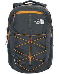 The North Face - Borealis Backpack Asphalt Grey Cirtine Yellow - Lyst