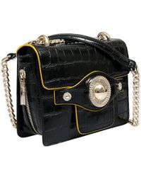 7f4124ff50 Lyst - Versace Ee1vsbbs4 E899 Black Messenger Bag in Black