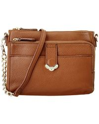 Jack Rogers - Celeste Small Leather Crossbody - Lyst