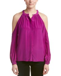 Jay Godfrey - Silk Top - Lyst