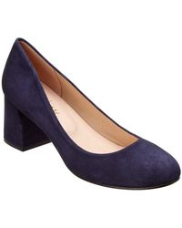 French Sole - Tour Suede Pump - Lyst