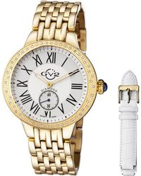 Gv2 - Astor Silver Watch With Interchangeable Strap - Lyst