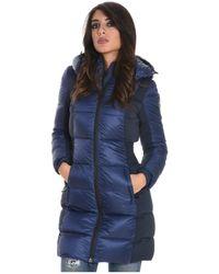 Rossignol - Women's Blue Polyamide Down Jacket - Lyst