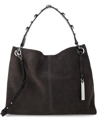 Vince Camuto - Open Leather Hobo Bag - Lyst