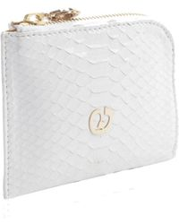 Nada Sawaya | Medium Zip Around Python Wallet | Lyst