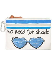 Style & Co. - . Womens No Need For Shade Canvas Pouch Wristlet Handbag - Lyst