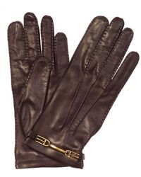 Bally - Nappa Leather Gloves - Lyst